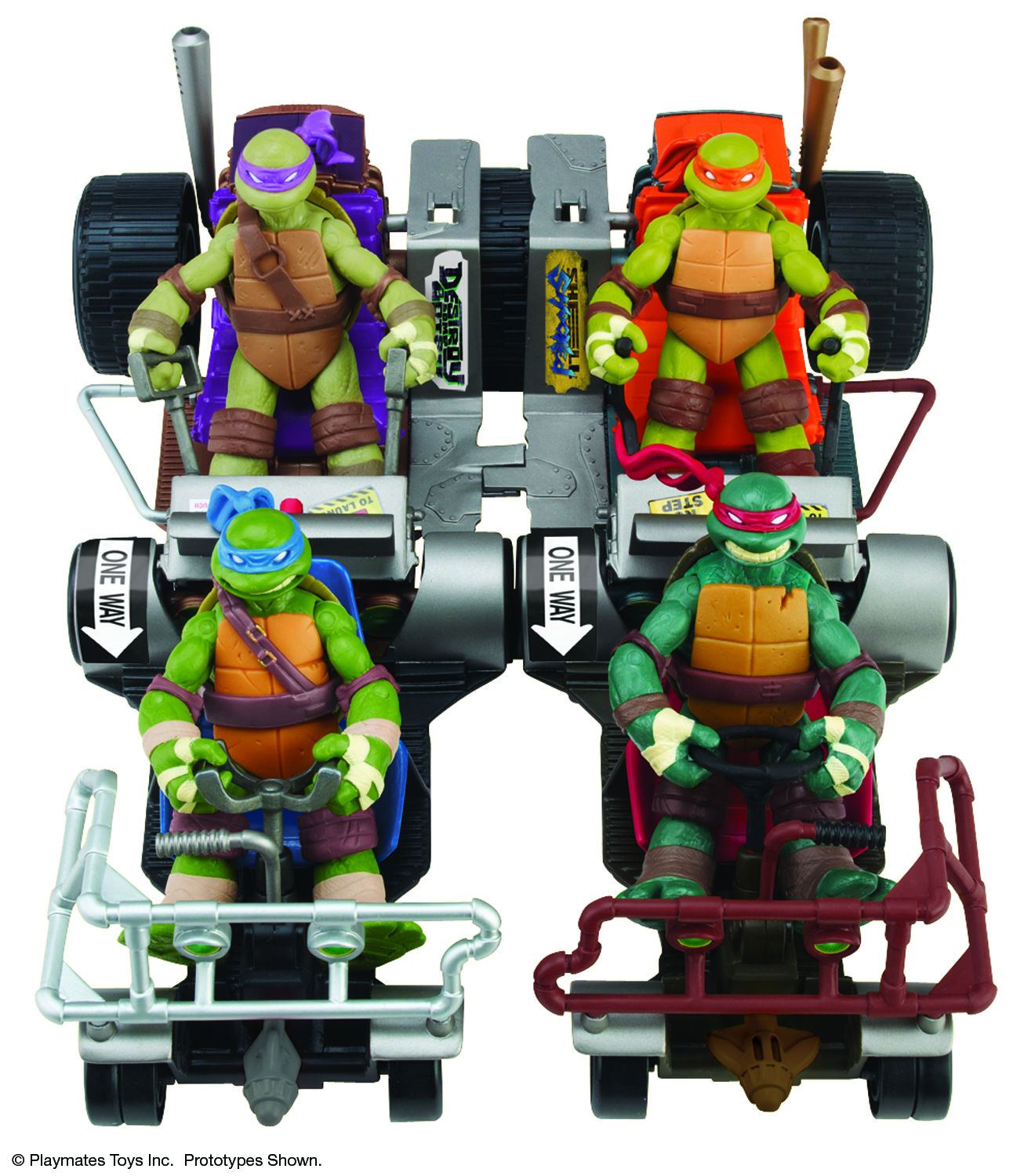 TMNT MID-PRICE VEHICLE ASST