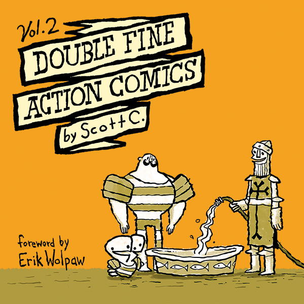 DOUBLE FINE ACTION COMICS TP VOL 02