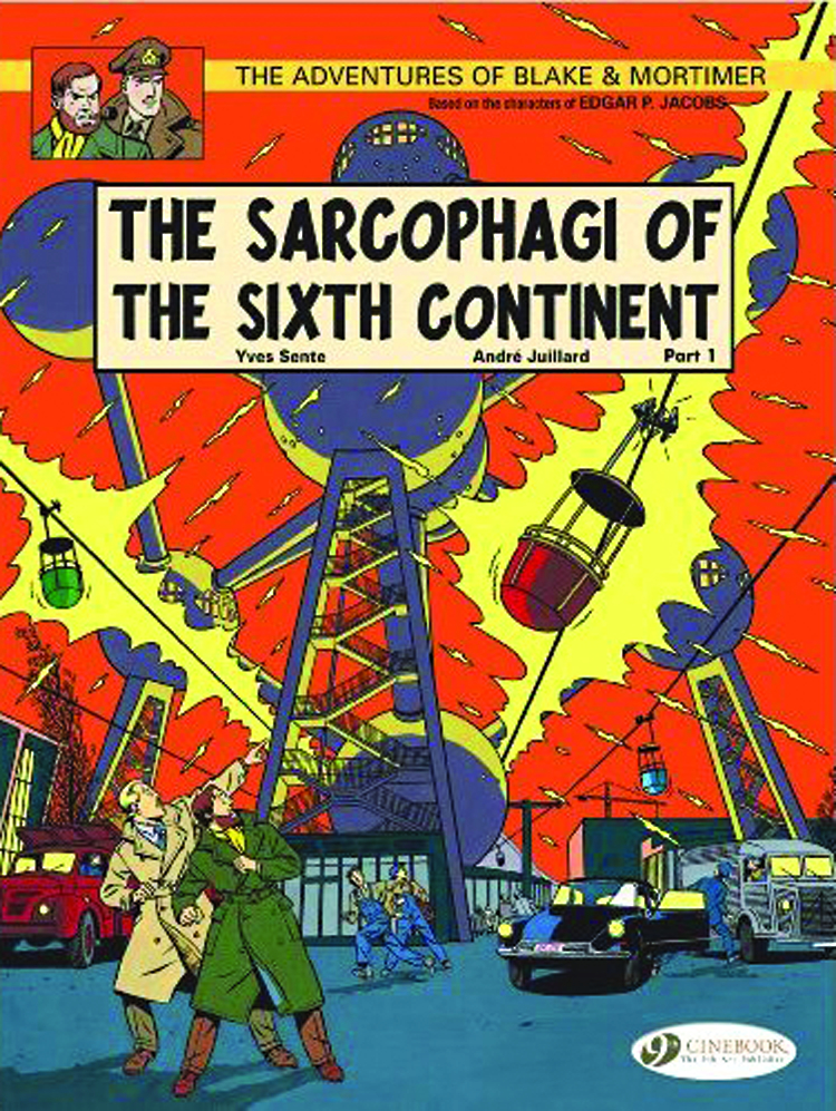 BLAKE & MORTIMER GN VOL 09 SARCOPHAGI OF 6TH CONTINENT PT1