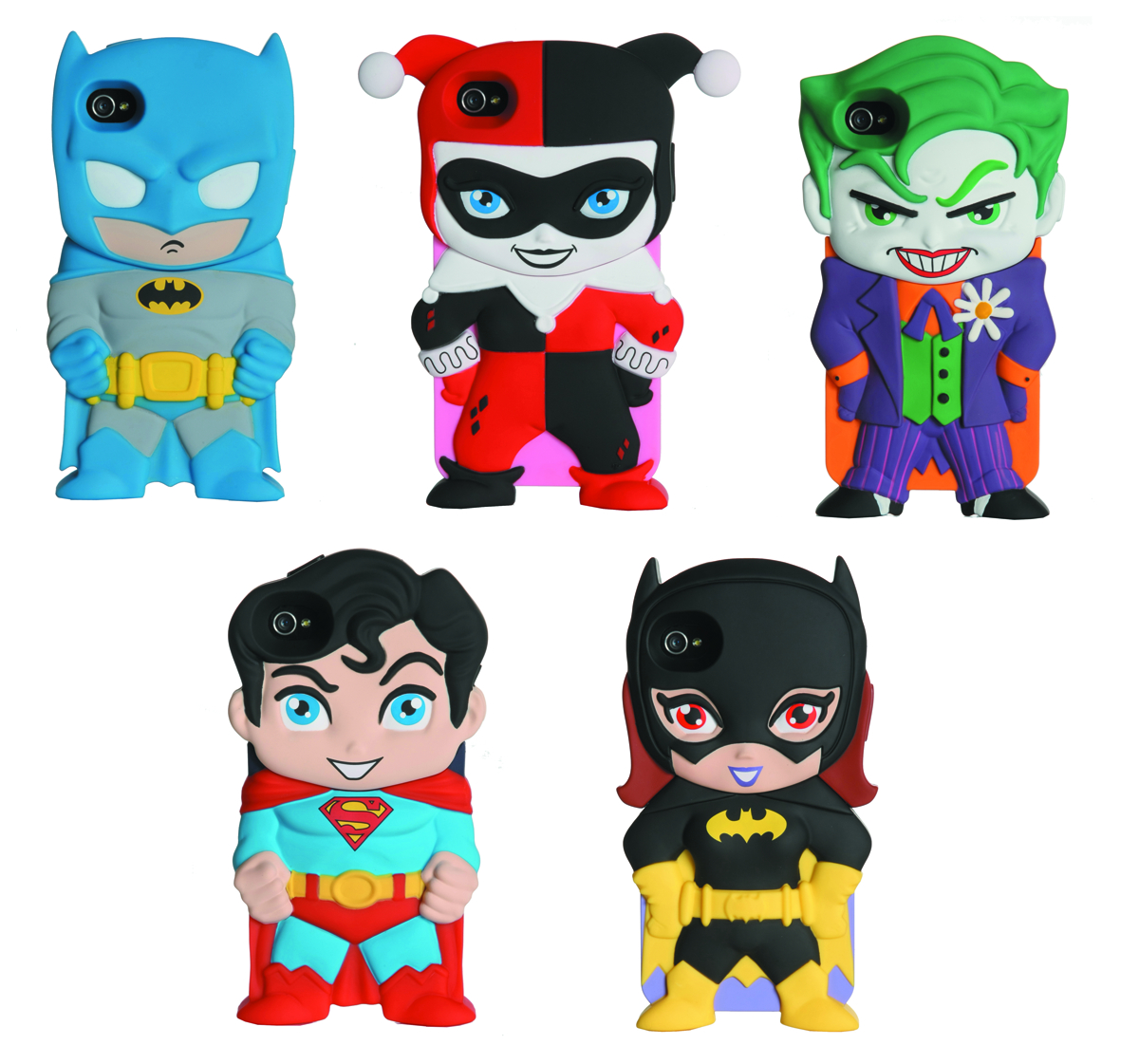 DC CHARA-COVERS IPHONE 4/4S 12PC CASE ASST