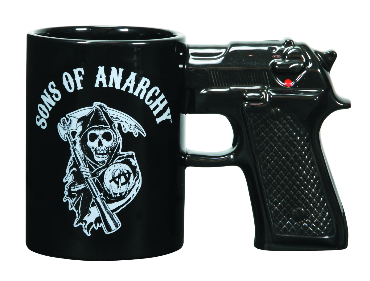 SONS OF ANARCHY LOGO GUN MUG