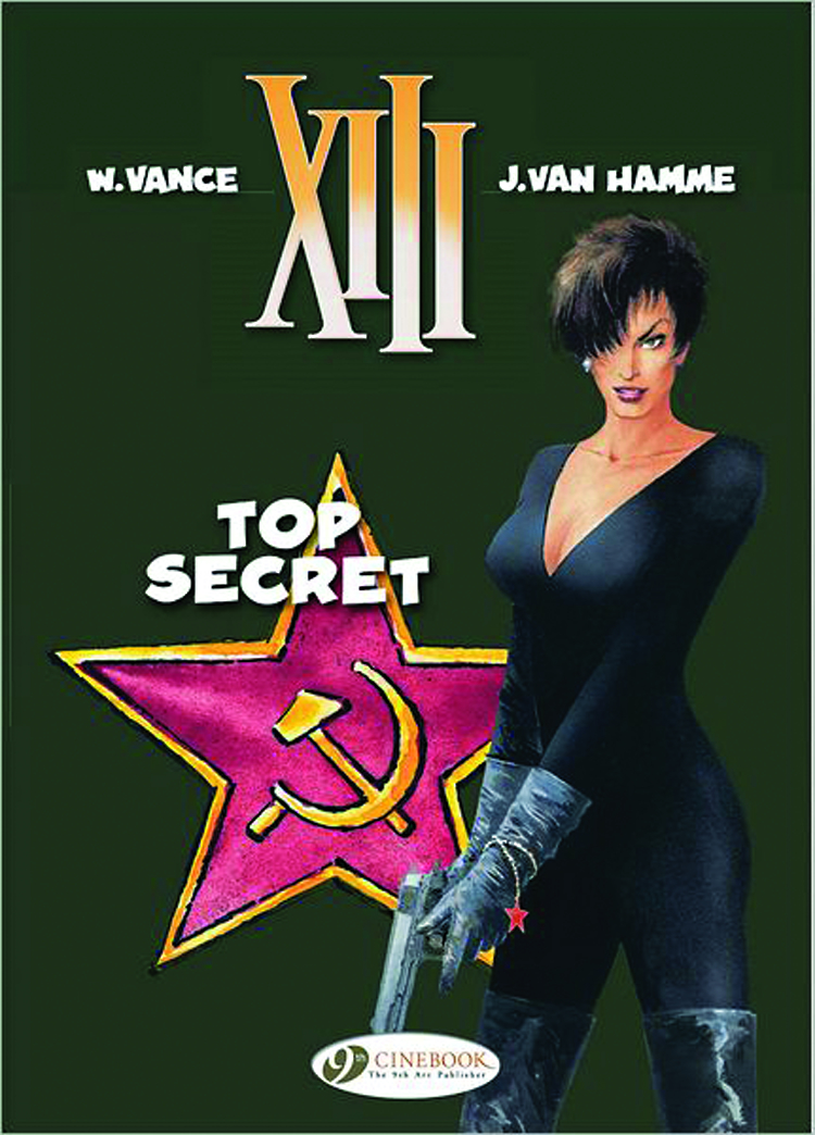 XIII CINEBOOK ED GN VOL 13 TOP SECRET