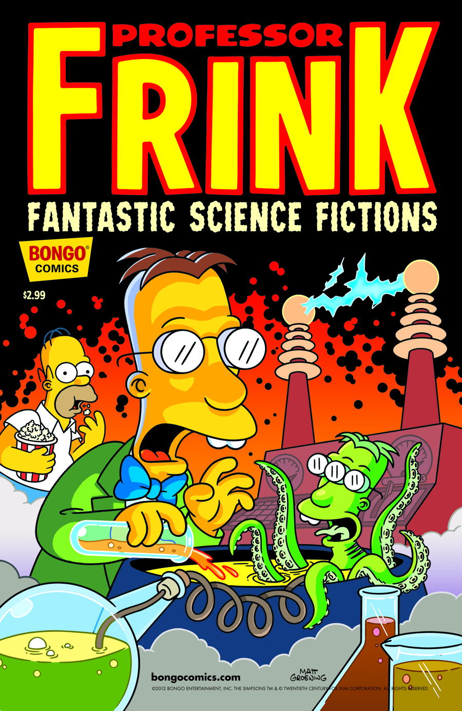 PROFESSOR FRINK FANTASTIC SCIENCE FICTIONS #1