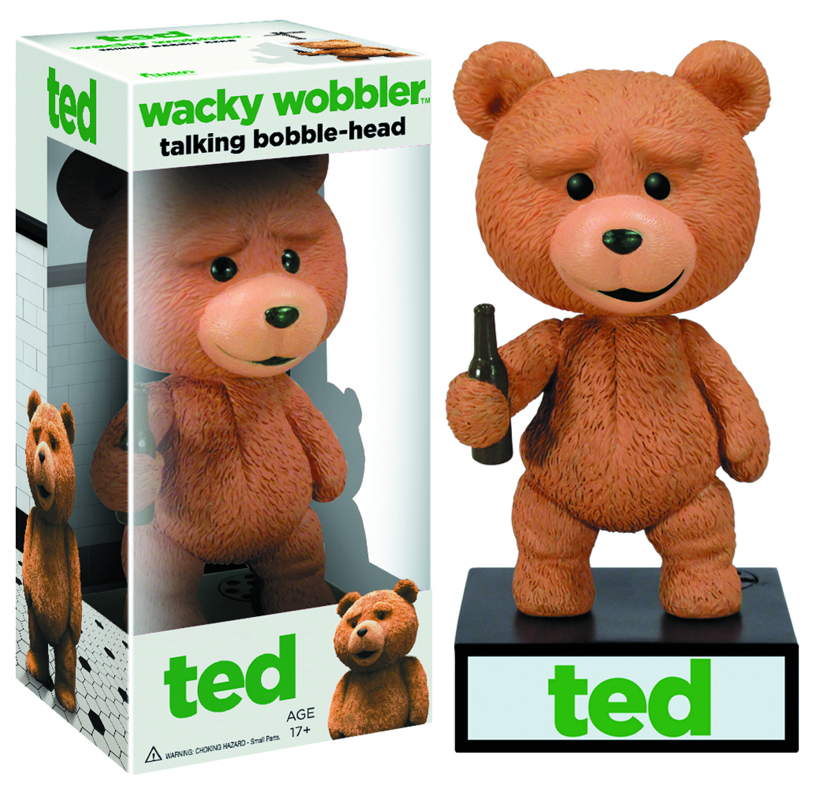 TALKING TED WACKY WOBBLER