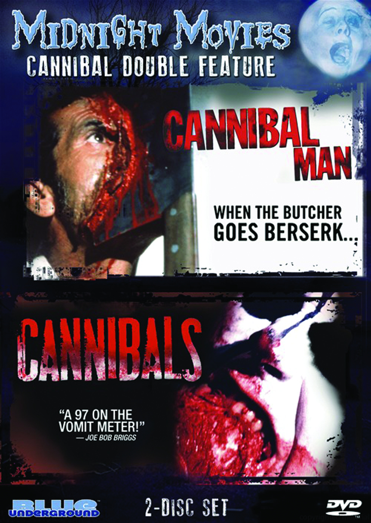 MIDNIGHT MOVIES DVD VOL 08 CANNIBAL DF