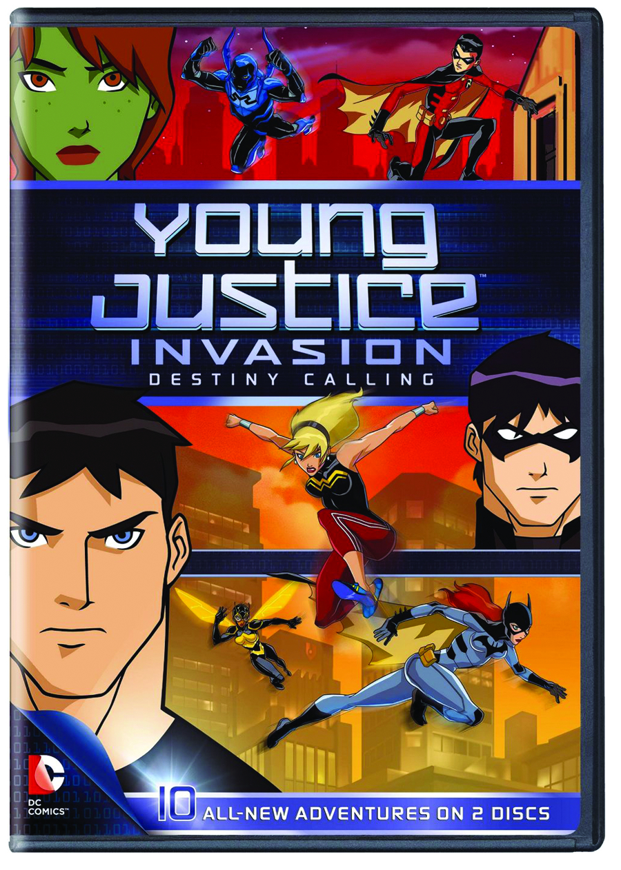 YOUNG JUSTICE INVASION DESTINY CALLING DVD