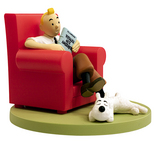 TINTIN BOX SCENE- TINTIN AT HOME