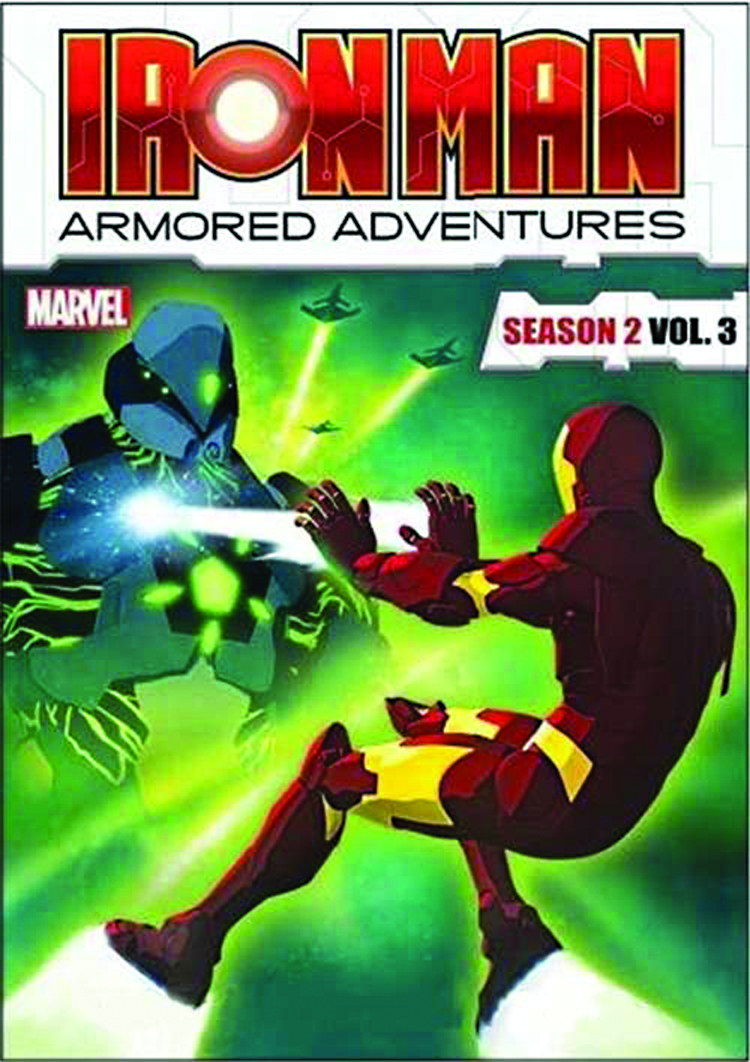IRON MAN ARMORED ADVENTURES DVD SEA 02 VOL 3