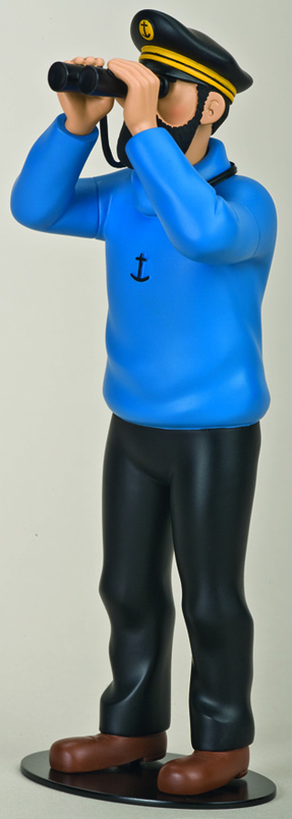 TINTIN HADDOCK THE MARINER RESIN STATUE