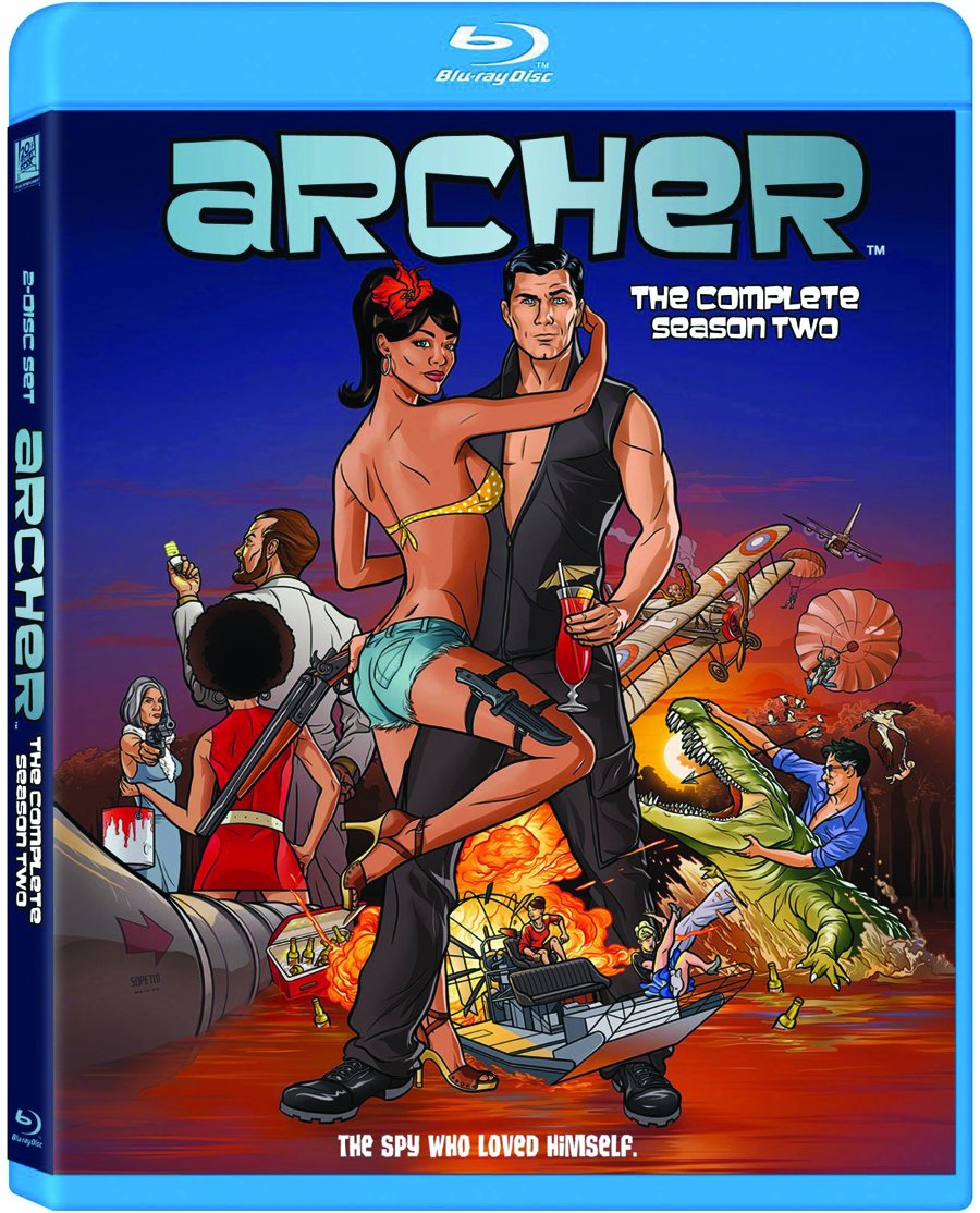 ARCHER DVD SEA 02