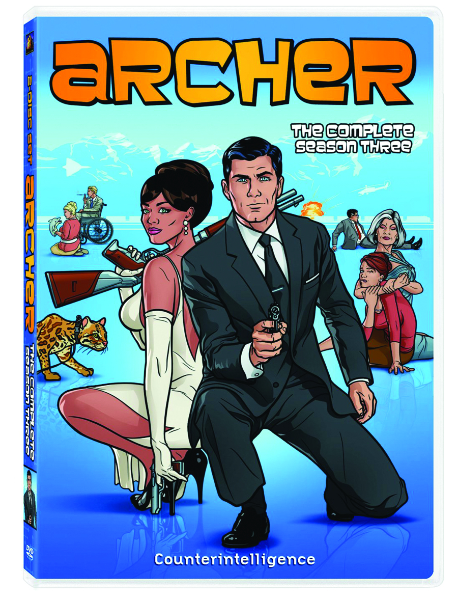 ARCHER DVD SEA 03