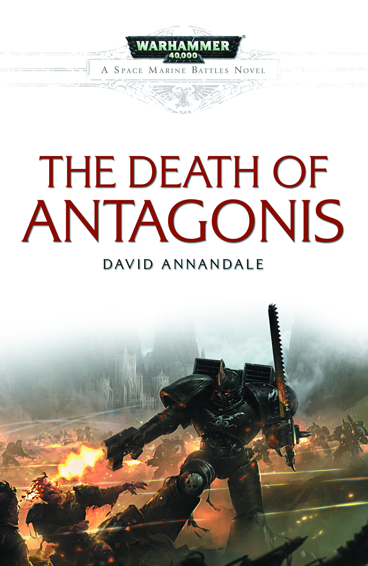 WARHAMMER 40K DEATH OF ANTAGONIS TP