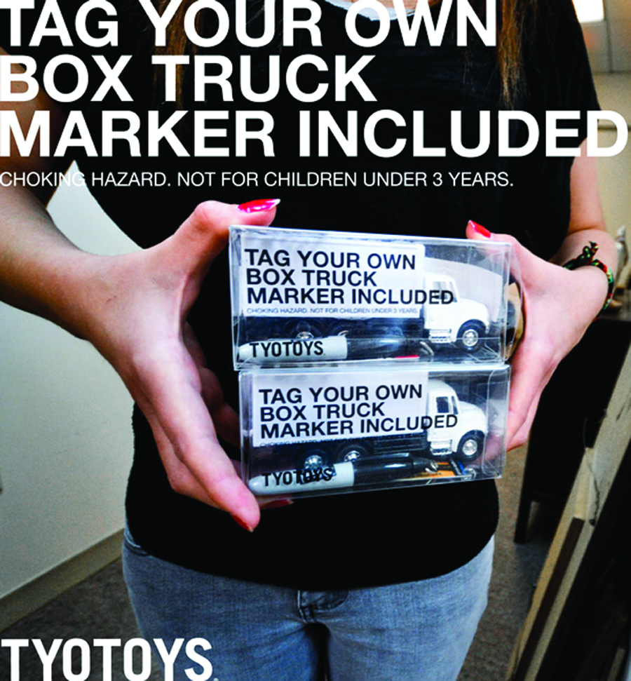 5IN TAG YOUR OWN BOX TRUCK