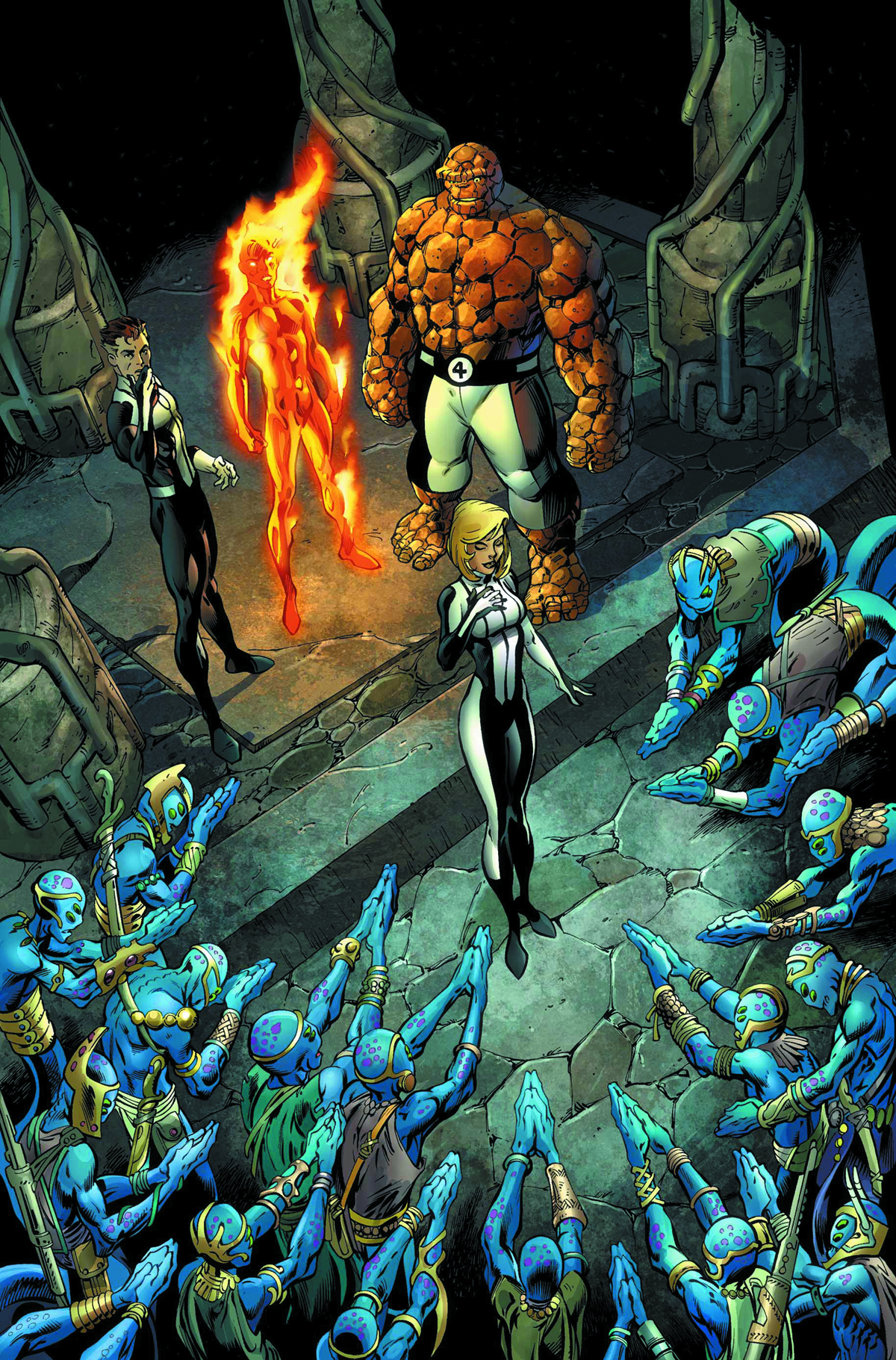FANTASTIC FOUR #4 NOW