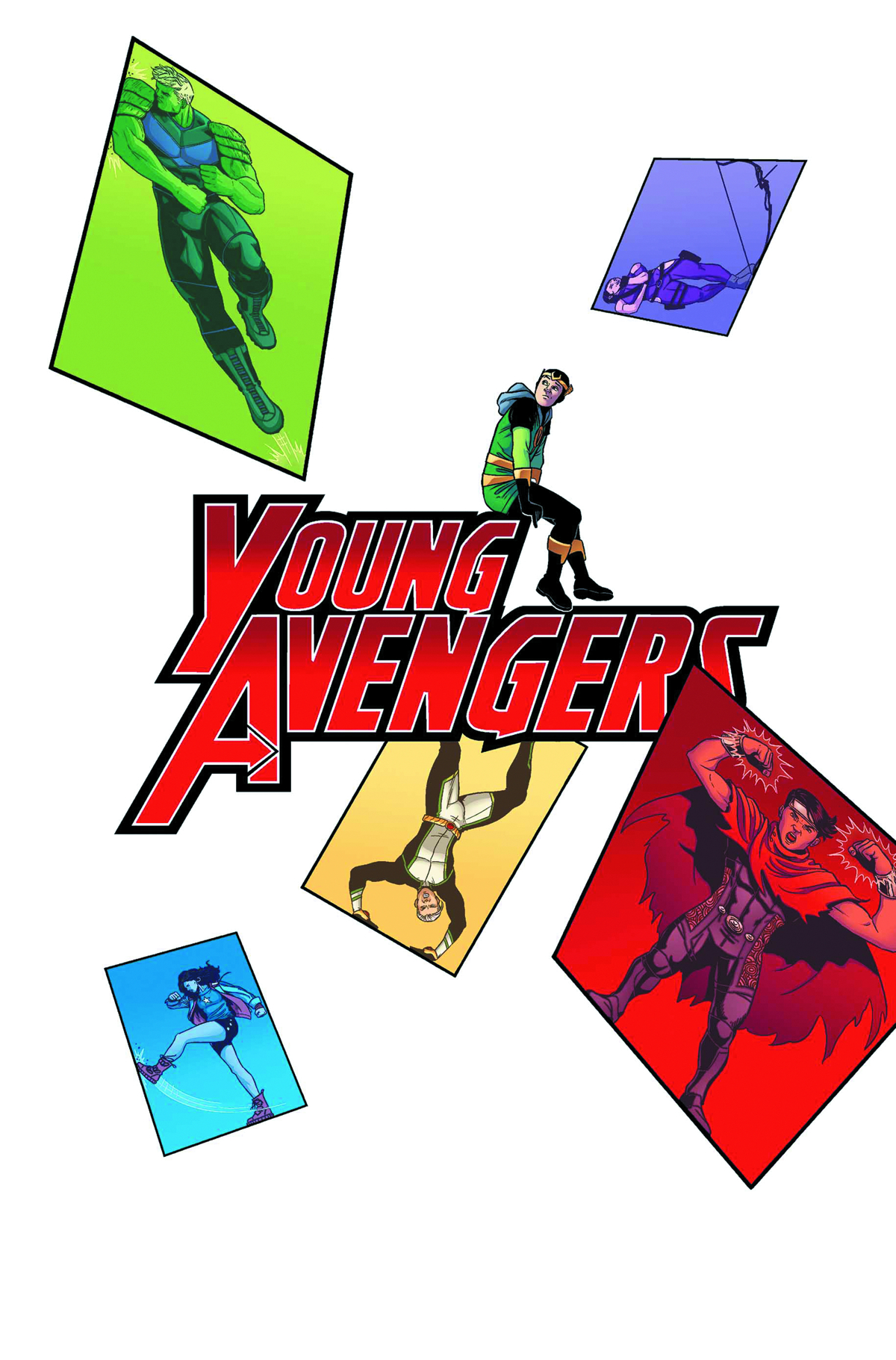YOUNG AVENGERS #2 NOW