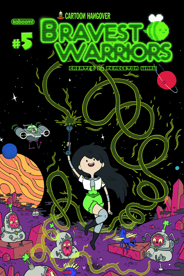 BRAVEST WARRIORS #5 MAIN CVRS