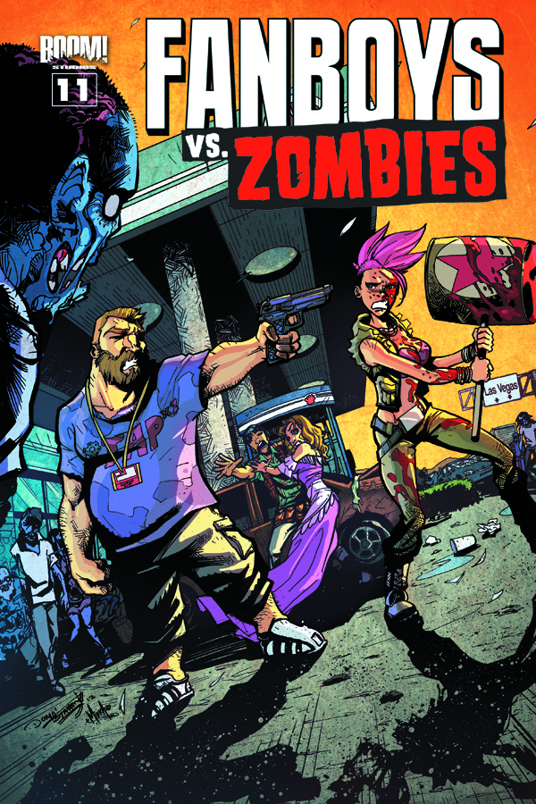 FANBOYS VS ZOMBIES #11 MAIN CVRS