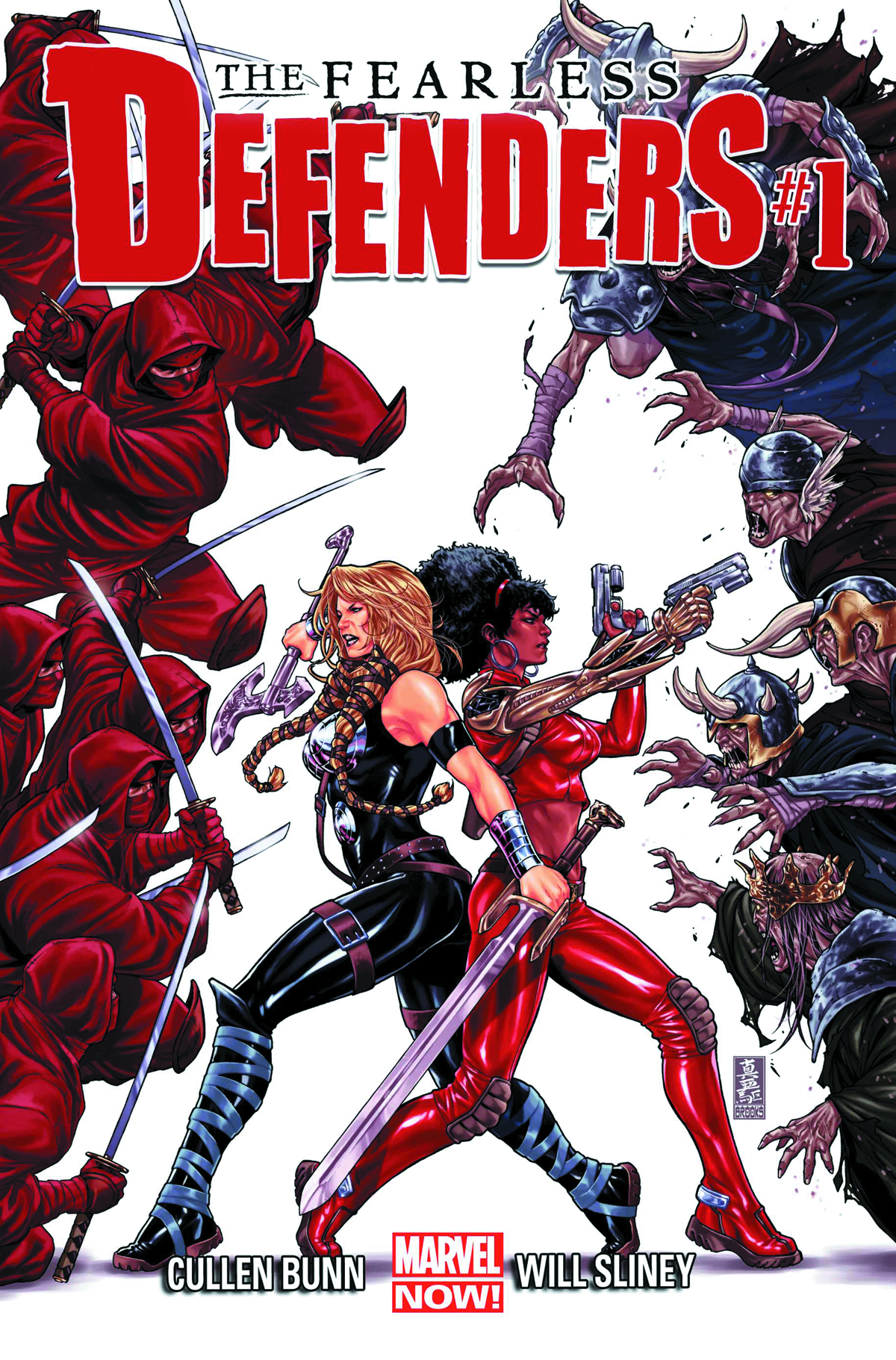 FEARLESS DEFENDERS #1 NOW