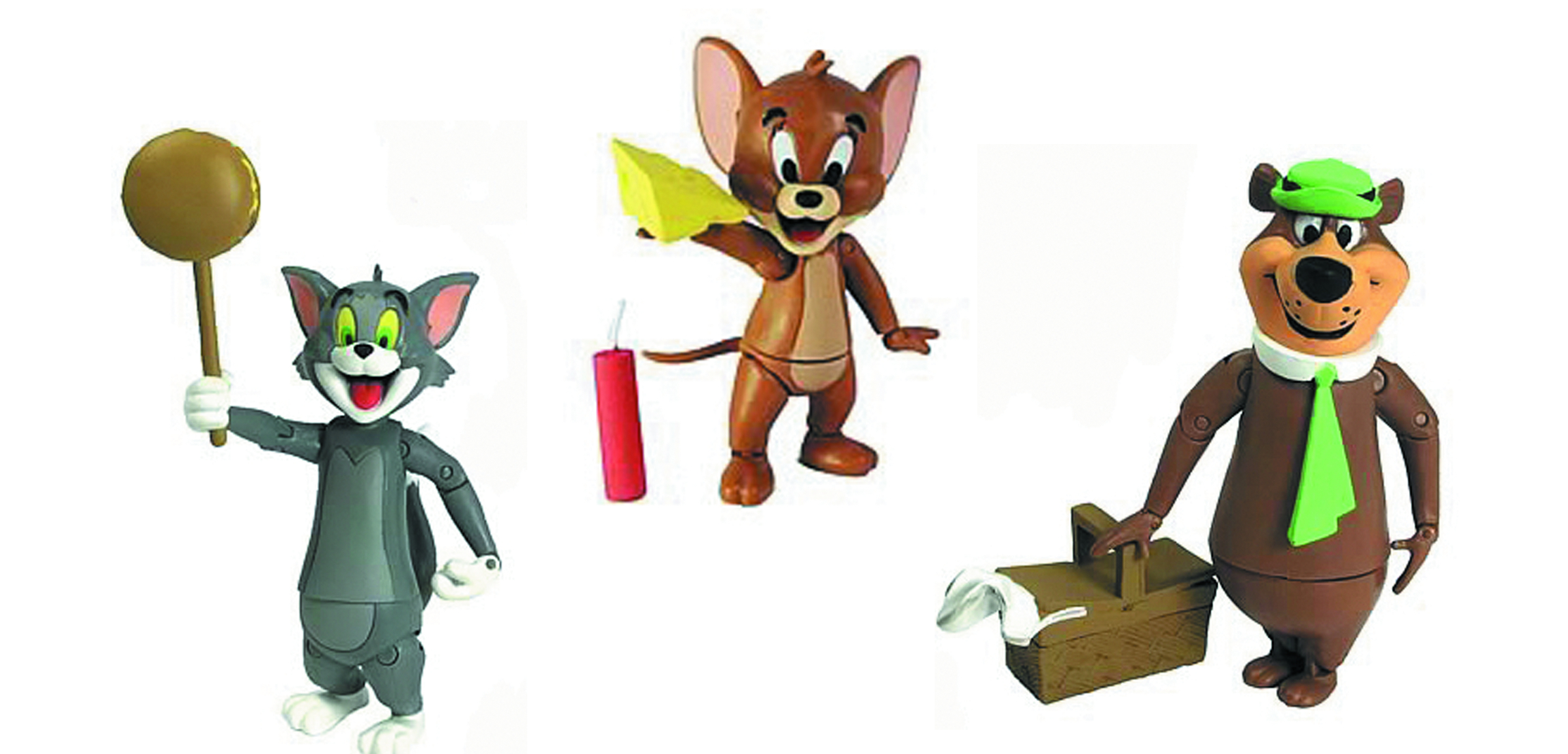 HB TOM & JERRY/YOGI BEAR 3-IN AF ASST