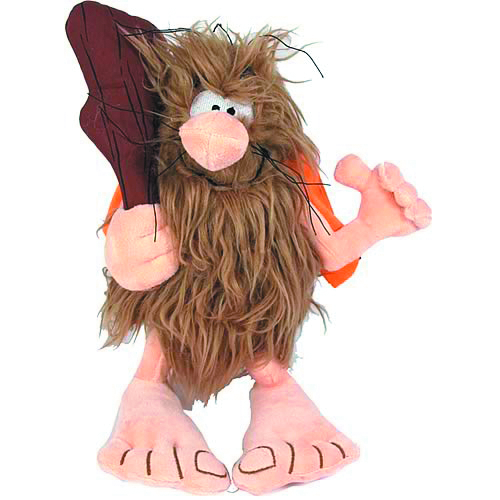 CAPTAIN CAVEMAN 10-IN PLUSH W/SOUND