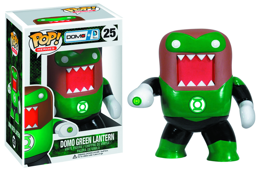 POP DOMO + DC COMICS GREEN LANTERN VINYL FIG