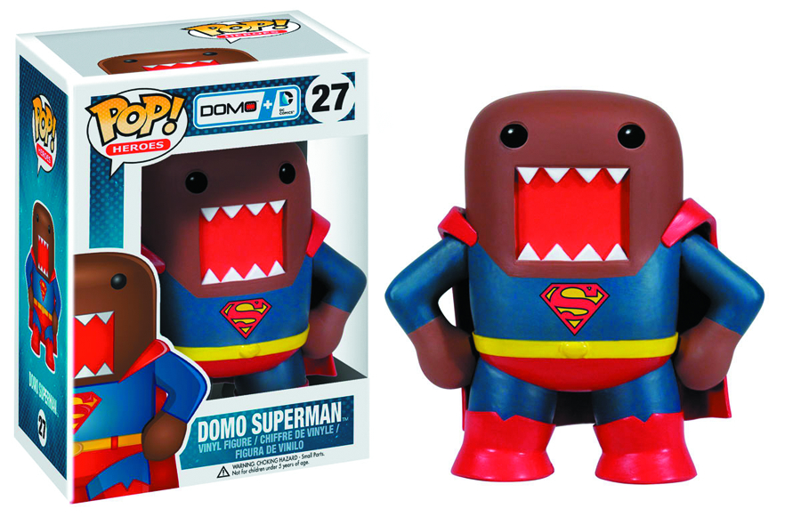 POP DOMO + DC COMICS SUPERMAN VINYL FIG