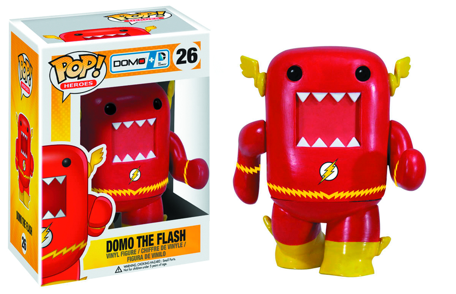 POP DOMO + DC COMICS FLASH VINYL FIG