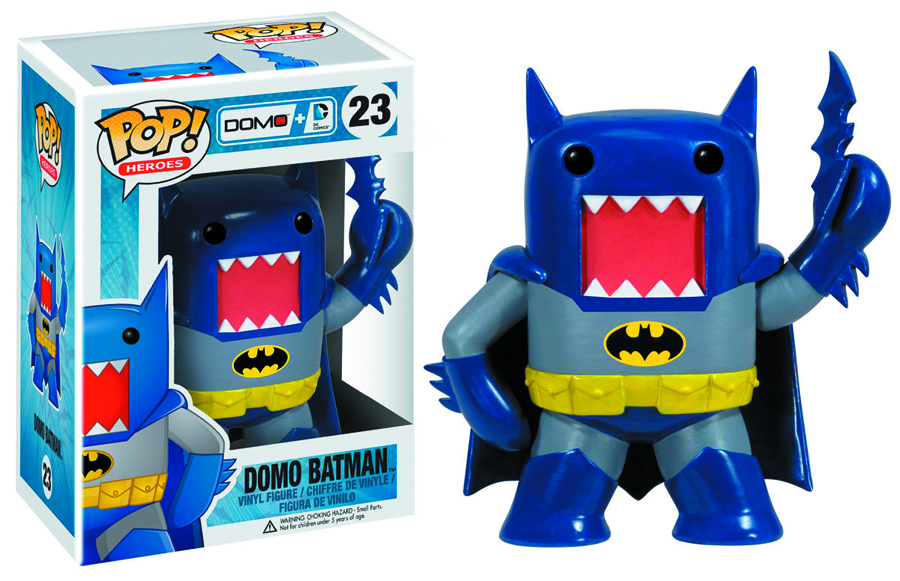 POP DOMO + DC COMICS BATMAN VINYL FIG BLUE VER