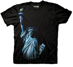 DOCTOR WHO ANGEL OF LIBERTY PX BLK T/S SM