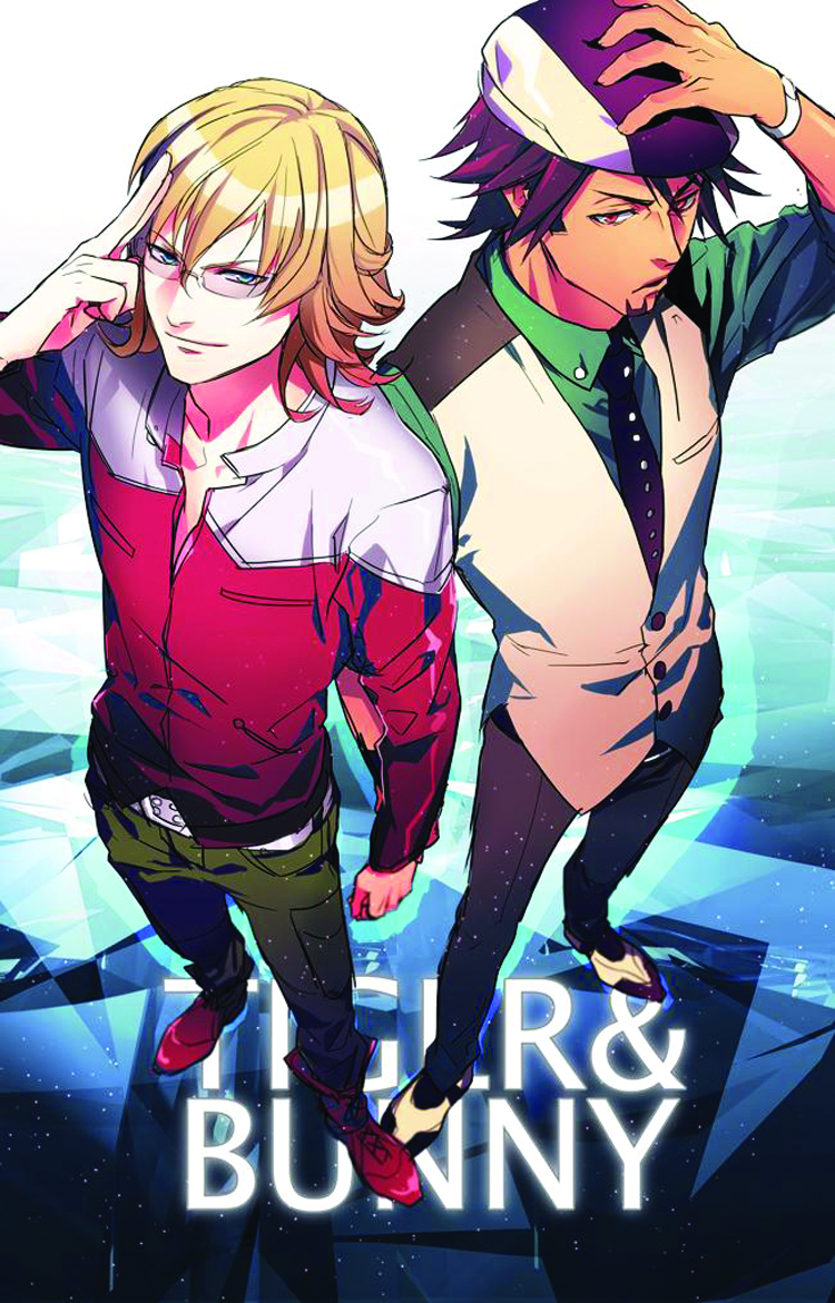 TIGER & BUNNY DVD SET 01