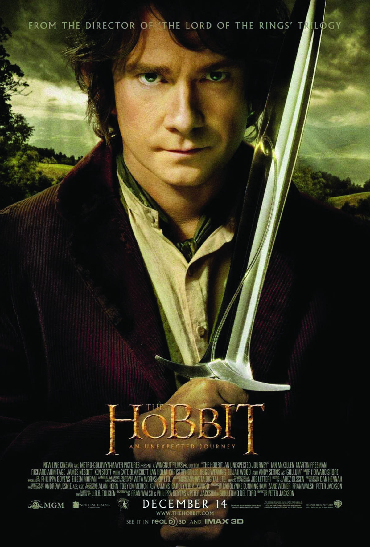 HOBBIT AN UNEXPECTED JOURNEY DVD
