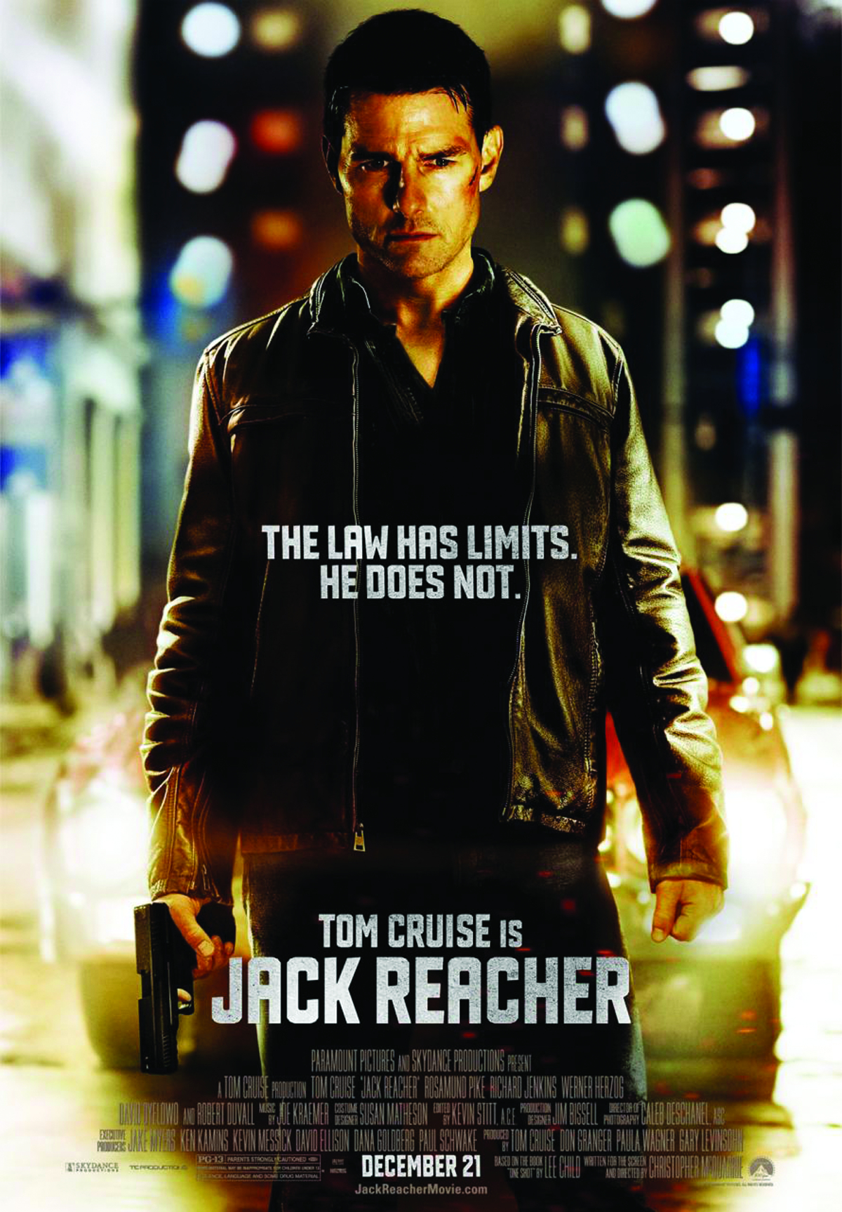 JACK REACHER BD + DVD