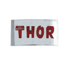 THOR RED LETTERS BELT BUCKLE