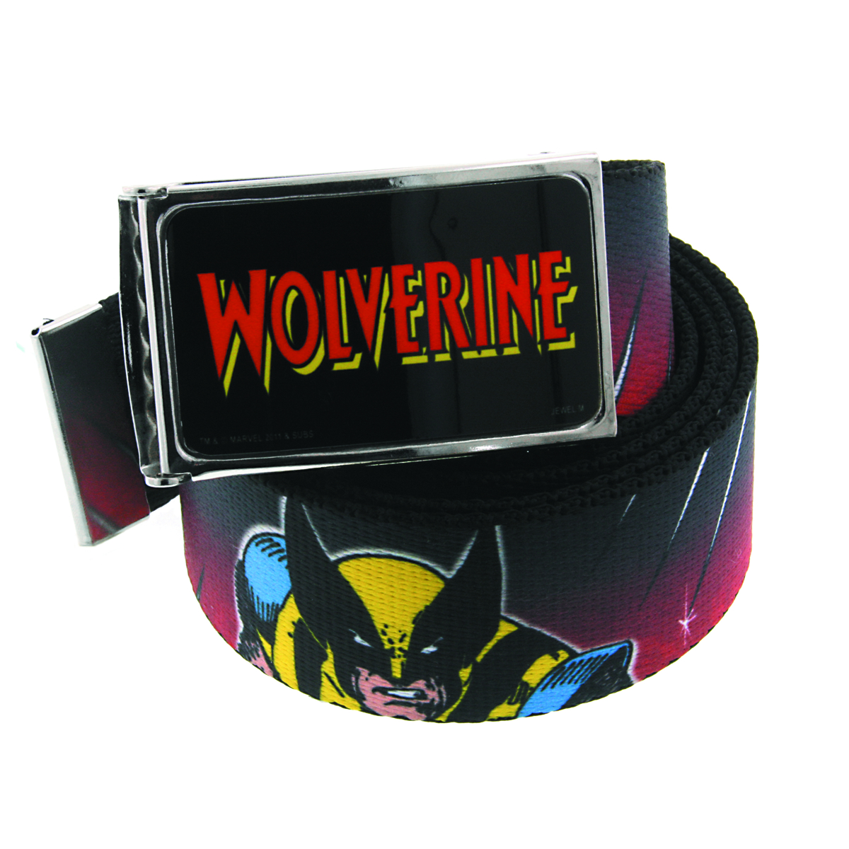 WOLVERINE CHARACTER GRAPHIC BELT