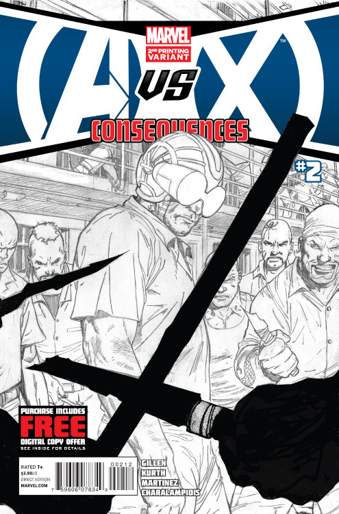 AVX CONSEQUENCES #2 (OF 5) 2ND PTG ZIRCHER VAR