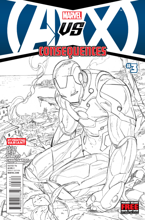 AVX CONSEQUENCES #3 (OF 5) 2ND PTG ZIRCHER VAR