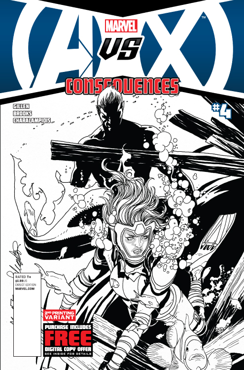 AVX CONSEQUENCES #4 (OF 5) 2ND PTG ZIRCHER VAR