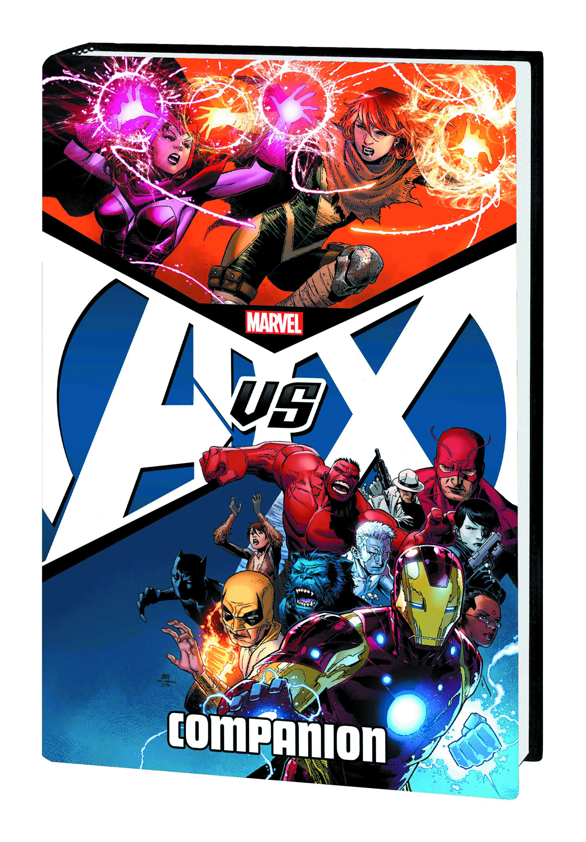 AVENGERS VS X-MEN HC COMPANION AVX