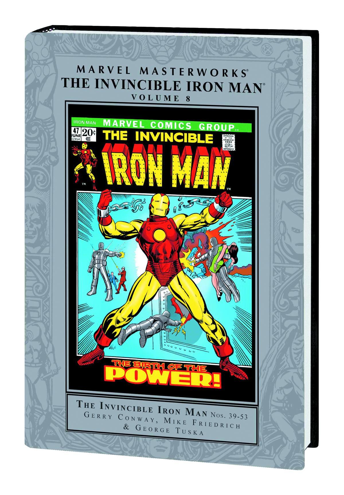 MMW INVINCIBLE IRON MAN HC VOL 08