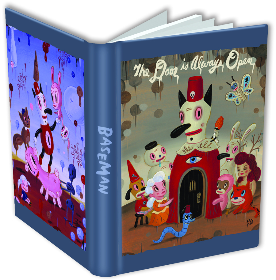 GARY BASEMAN THE DOOR IS ALWAYS OPEN JOURNAL