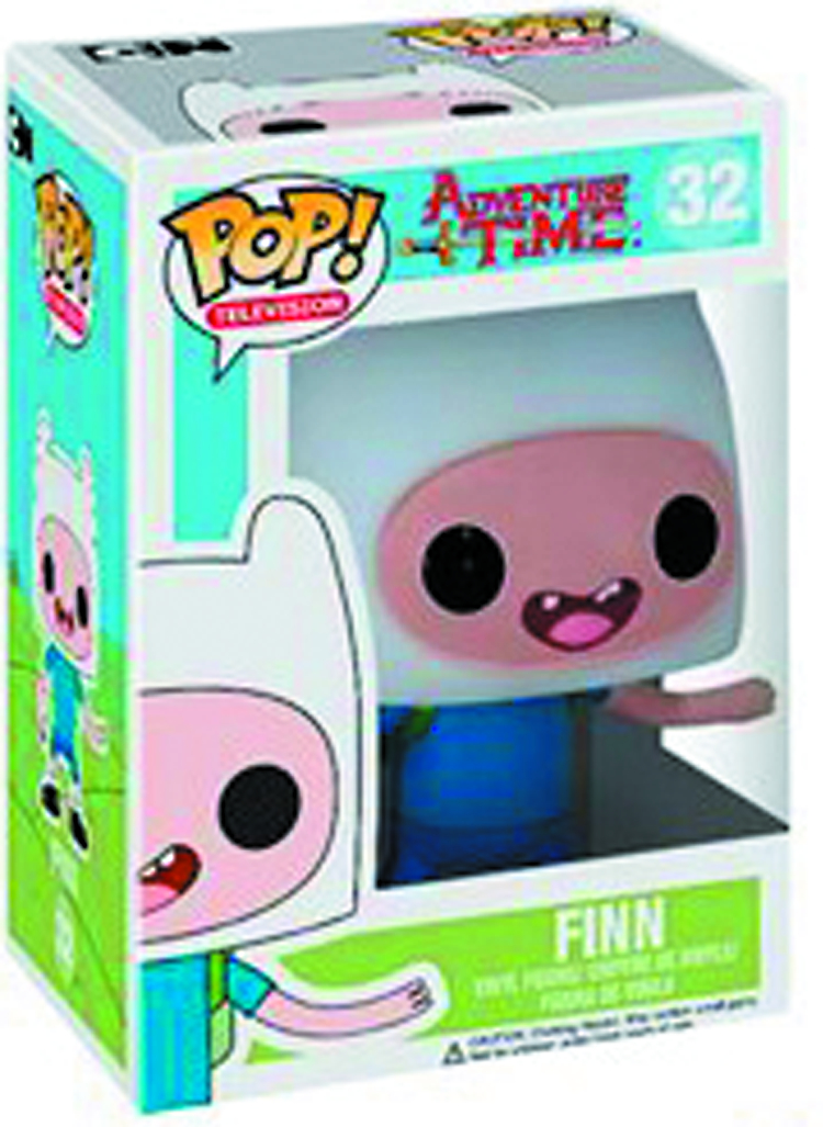 POP ADVENTURE TIME FINN VINYL FIG