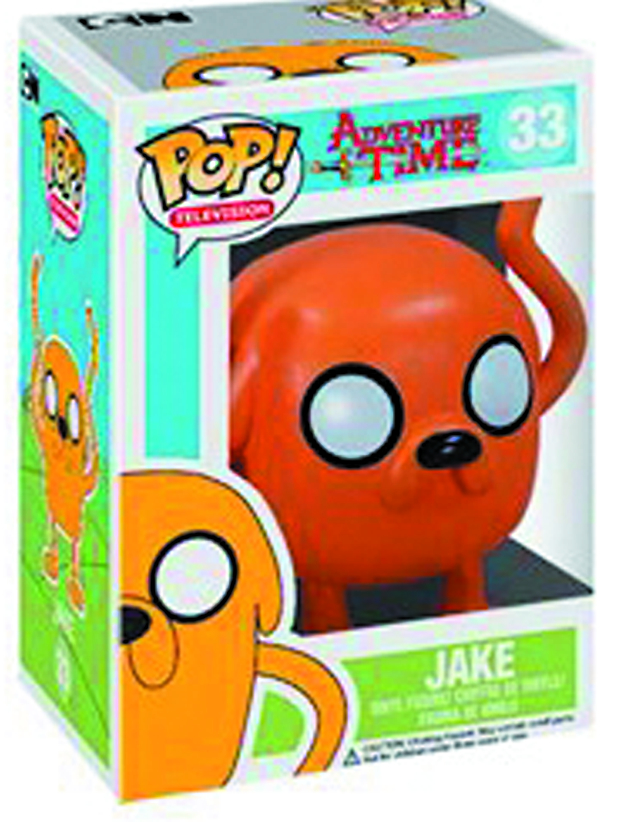 POP ADVENTURE TIME JAKE VINYL FIG