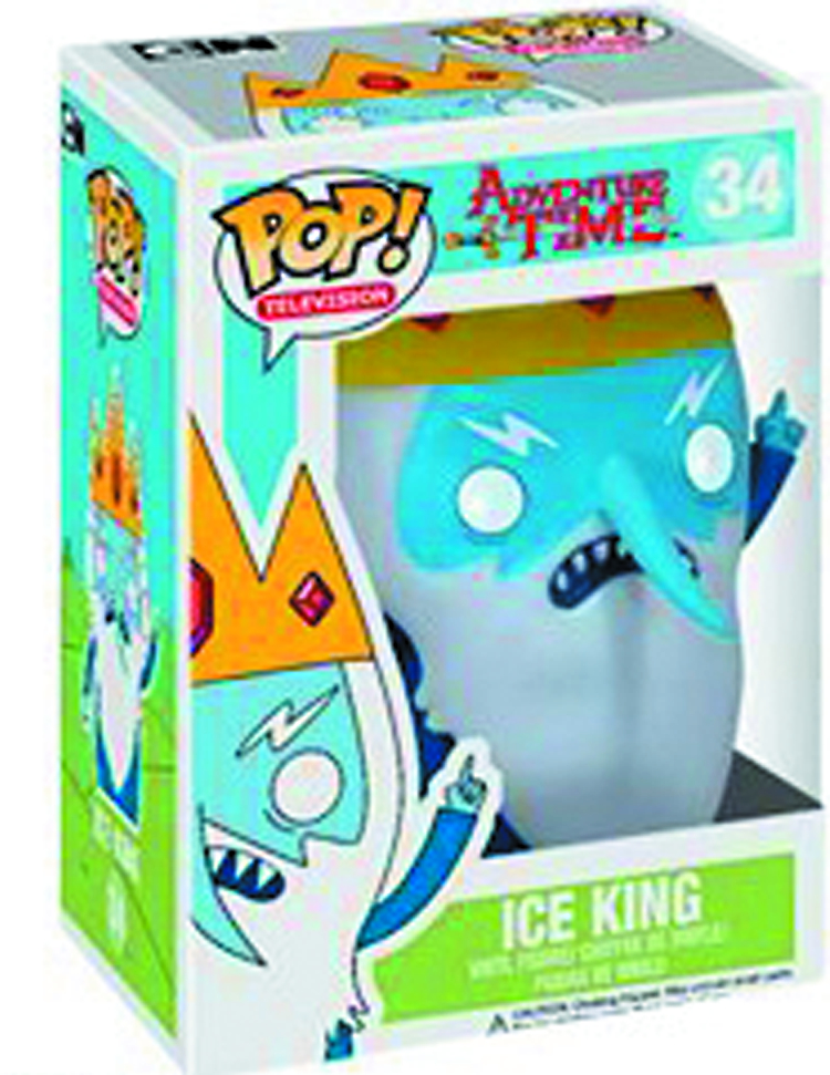 POP ADVENTURE TIME ICE KING VINYL FIG