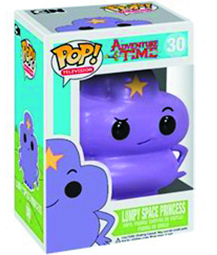 POP ADVENTURE TIME LUMPY SPACE PRINCESS VINYL FIG