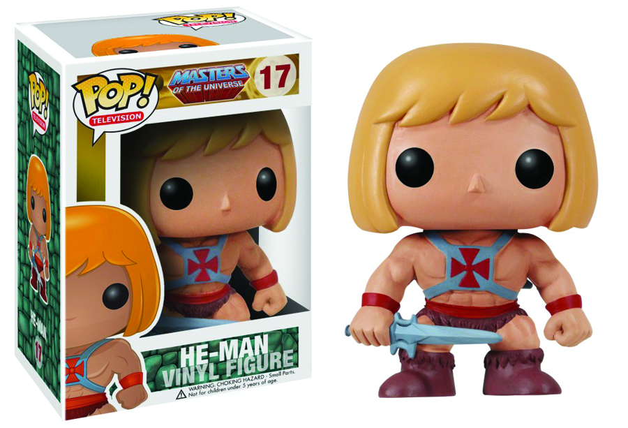 POP MOTU HE-MAN VINYL FIG
