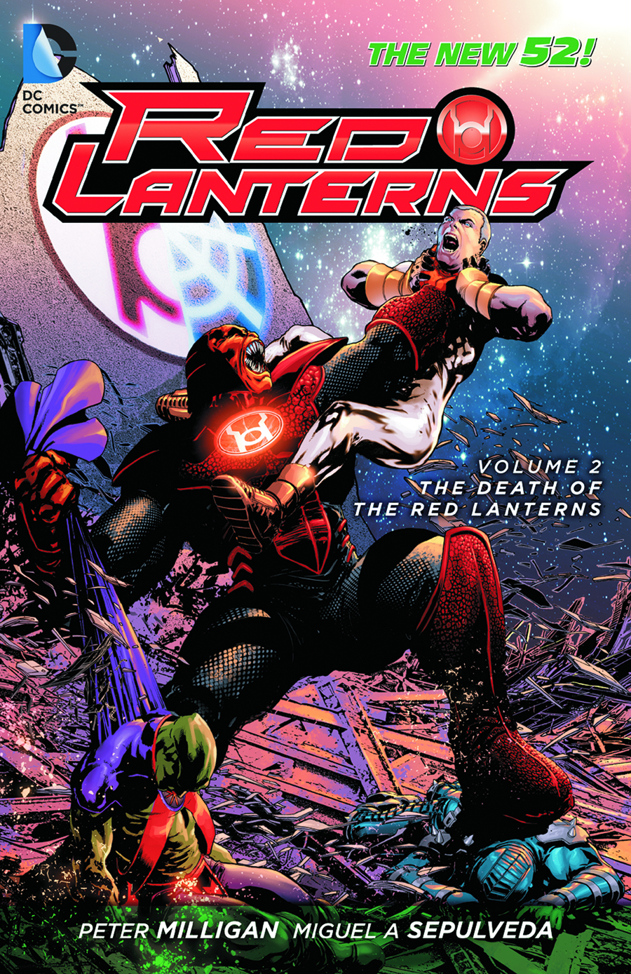 RED LANTERNS TP VOL 02 DEATH OF RED LANTERNS