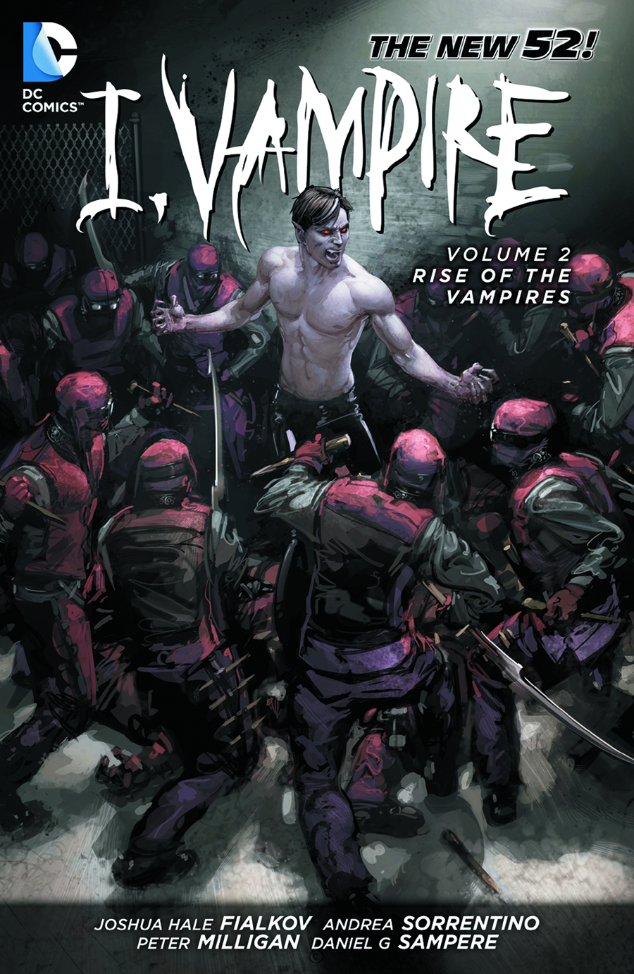 I VAMPIRE TP VOL 02 RISE OF THE VAMPIRES