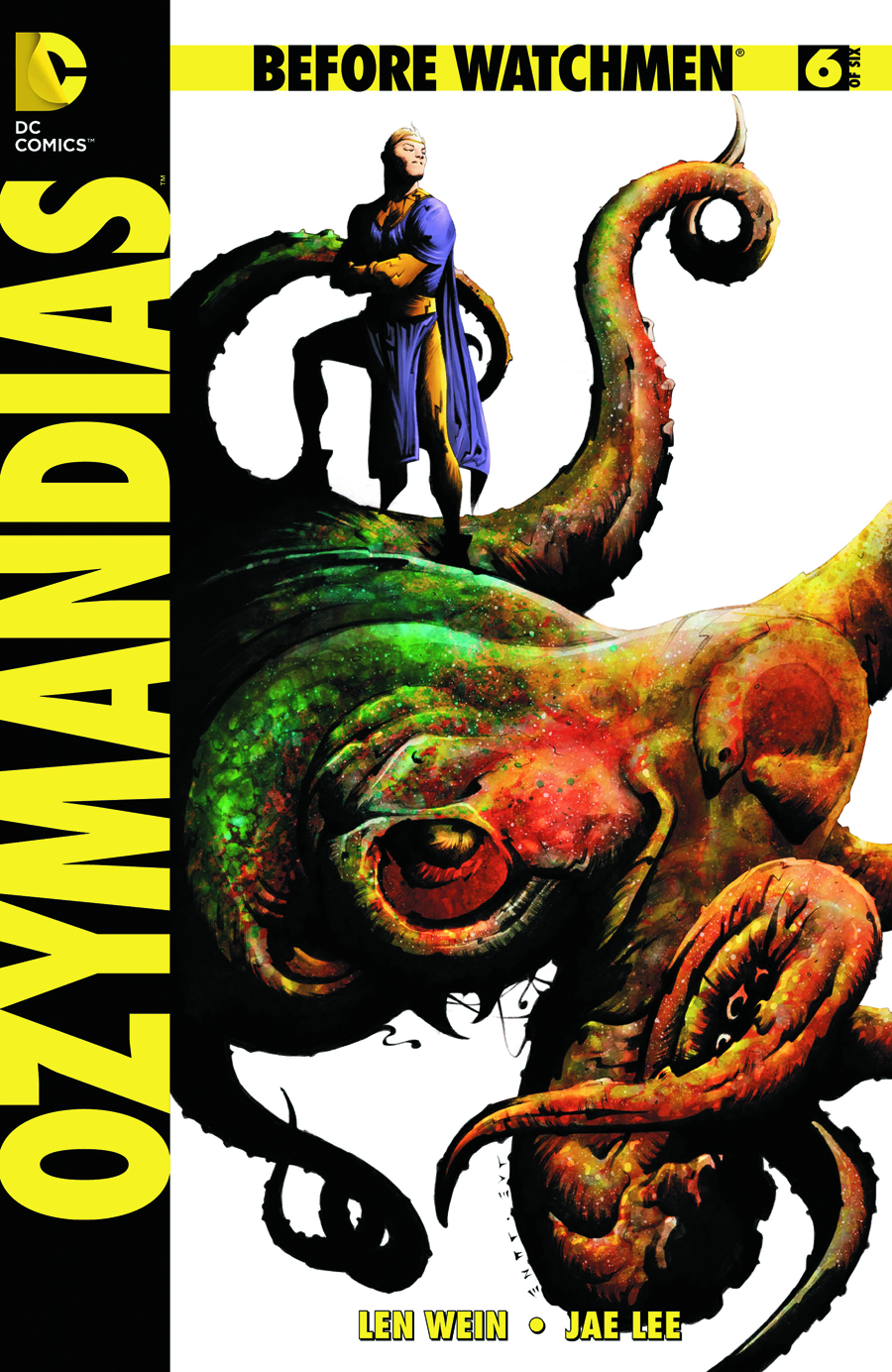 BEFORE WATCHMEN OZYMANDIAS #6 (OF 6)