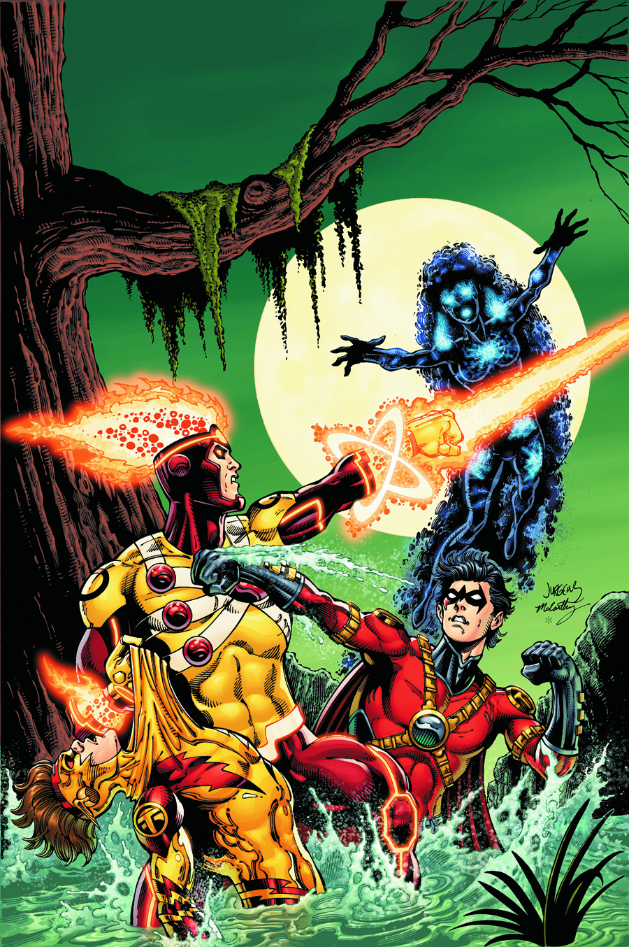 FURY OF FIRESTORM THE NUCLEAR MAN #17