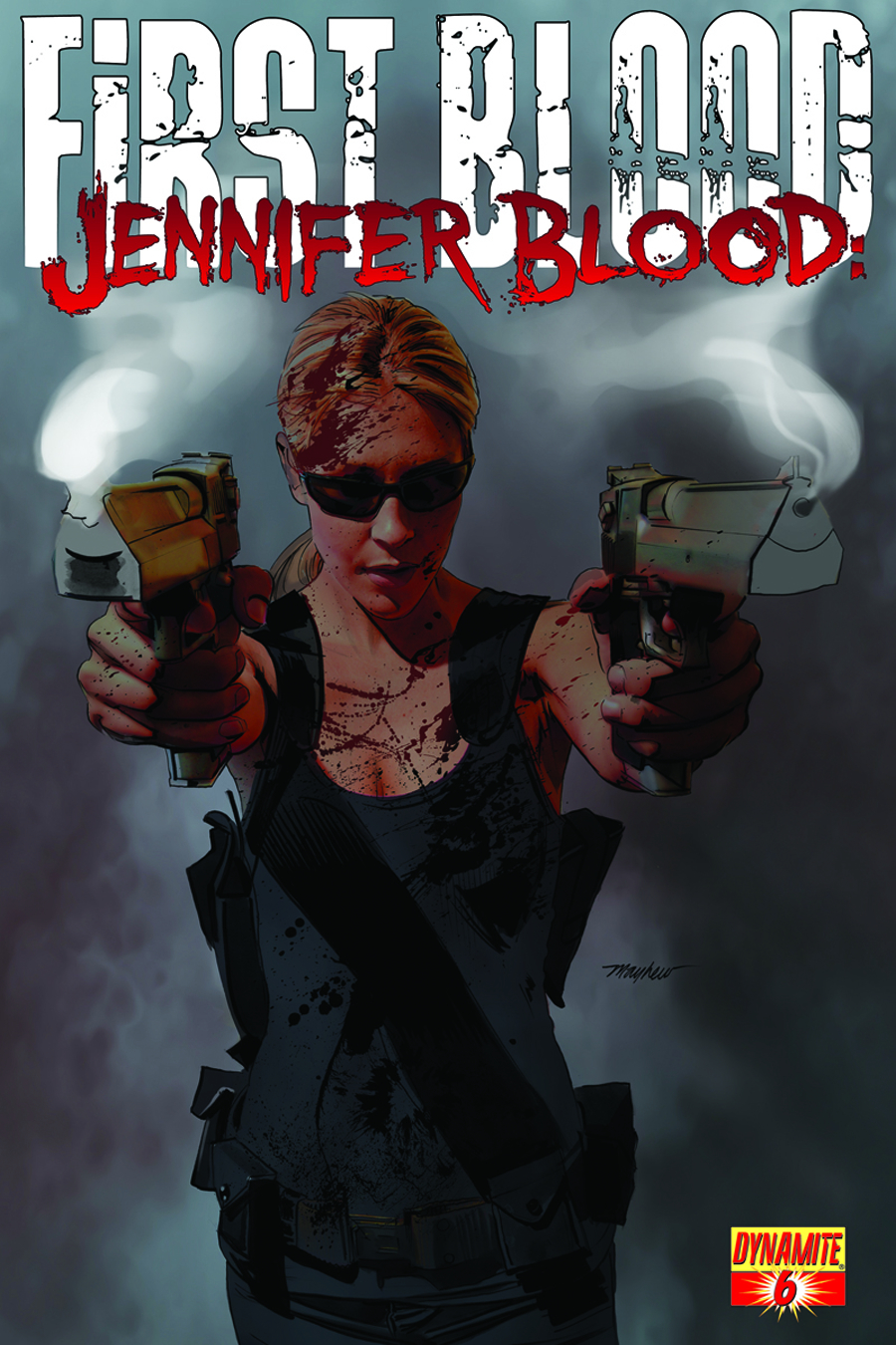 JENNIFER BLOOD FIRST BLOOD #6